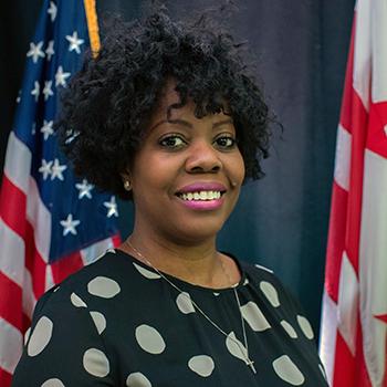Karima Holmes, Board Member headshot