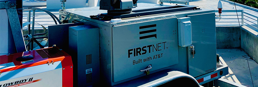 FirstNet Cell On Wheels