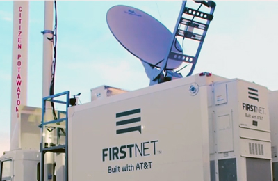 """A FirstNet deployable boosted communications for Citizen Potawatomi Nation first responders at the annual FireLake Fireflight Balloon Festival."""
