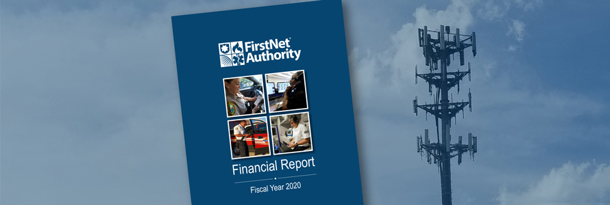 FirstNet Authority Financial Report Fiscal Year 2020; Cell tower