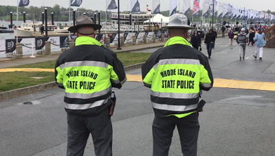 """When we tried the new technology that came out of FirstNet and applied it to [the Volvo Ocean Race], tracking public safety entities in the venue was great for situational awareness,"" said Tom Guthlein, Operations Section Chief for the Rhode Island Emergency Management Agency."