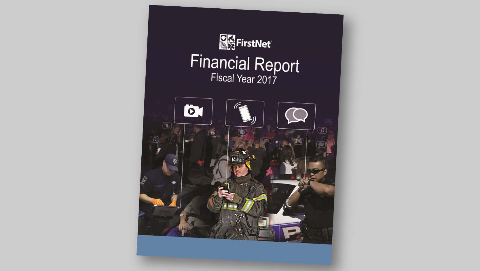 Cover of the 2017 financial report
