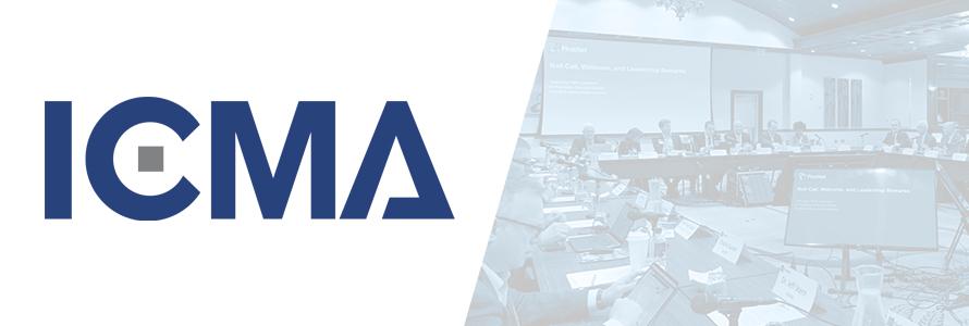 International City/County Management Association logo, PSAC meeting