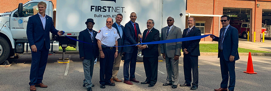 Congressman G. K. Butterfield and FirstNet Authority Board Member Welton Chase, Jr. open 2 new, purpose-built cell sites near Warrenton