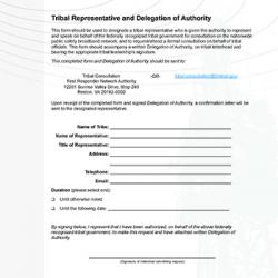 Cover of Consultation Delegation of Authority