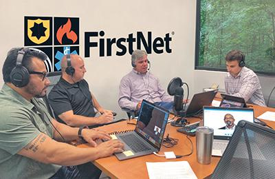 Dave Buchanan interviews FirstNet Authority's Harry Markley and Jeff King